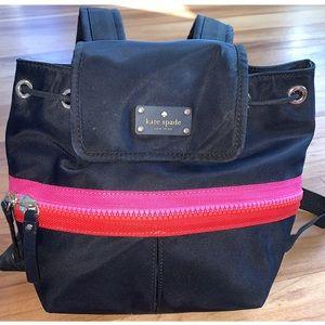 KATE SPADE ♠️ matty black  Clark court backpack